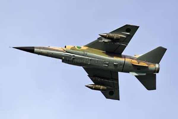 بمباران شهر الزاویه از سوی جنگنده های حفتر
