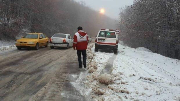 برف و باران در جاده های 16 استان ، 9 جاده مسدود است