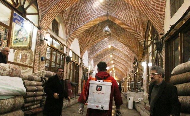 بازار تبریز در روزهای پنجشنبه و آدینه تعطیل رسمی است
