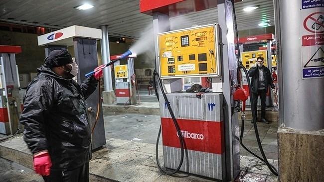 40 پمپ بنزین به خاطر کرونا تعطیل شد