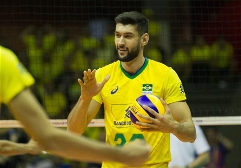 ملی پوش والیبال برزیل در تیم کولاکوویچ