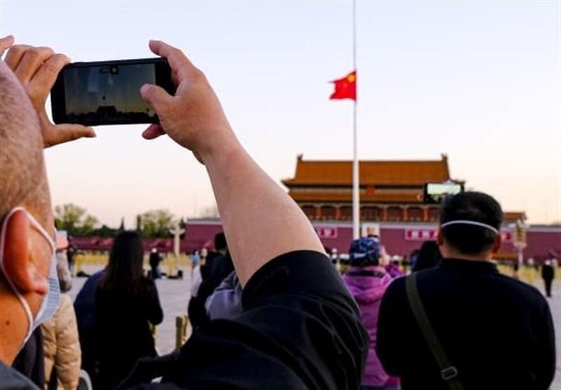 مردم چین به یاد قربانیان ویروس کرونا 3 دقیقه سکوت کردند