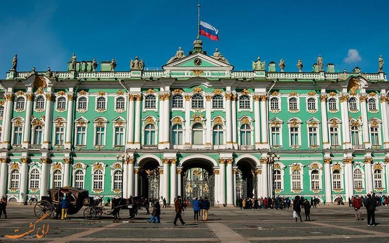 موزه هرمیتاژ، عظیم ترین موزه دنیا در روسیه