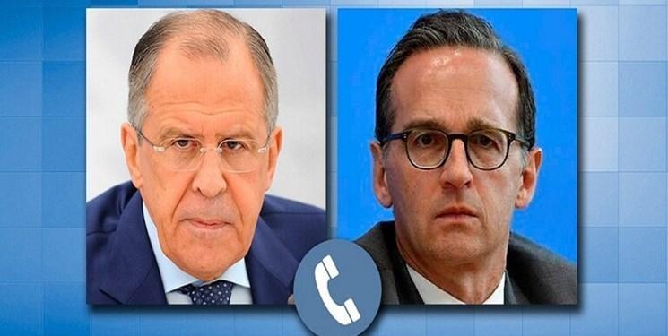 لاوروف در گفت وگو با همتای آلمانی:یاری ها به سوریه باید با هماهنگی دمشق باشد