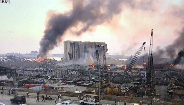 کویت سیلوی گندم در بندر بیروت را بازسازی می نماید