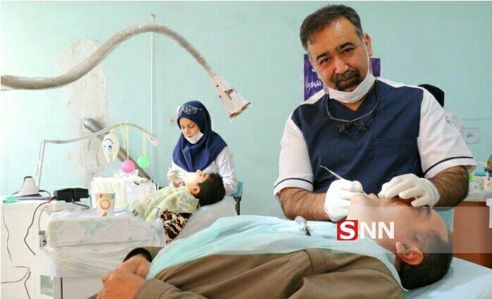 گروه جهادی منتظران ظهور به زندانیان ورامین خدمات پزشکی ارائه می دهند