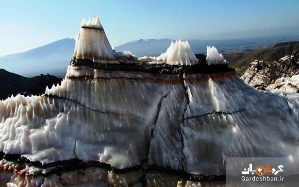 گنبدهای نمکی بستک؛یکی از عجایب هرمزگان، عکس