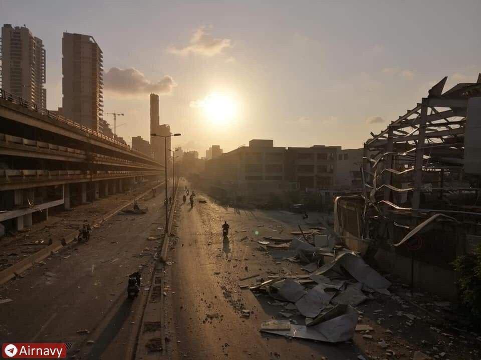 جزئیات انفجار دلخراش بیروت به روایت مقامات و رسانه ها