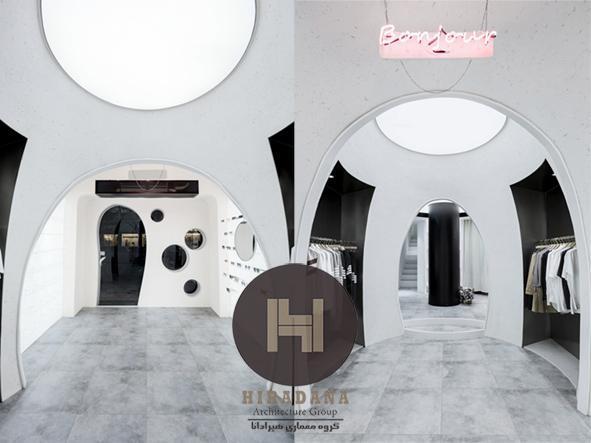 بازسازی و طراحی داخلی بوتیک در چین