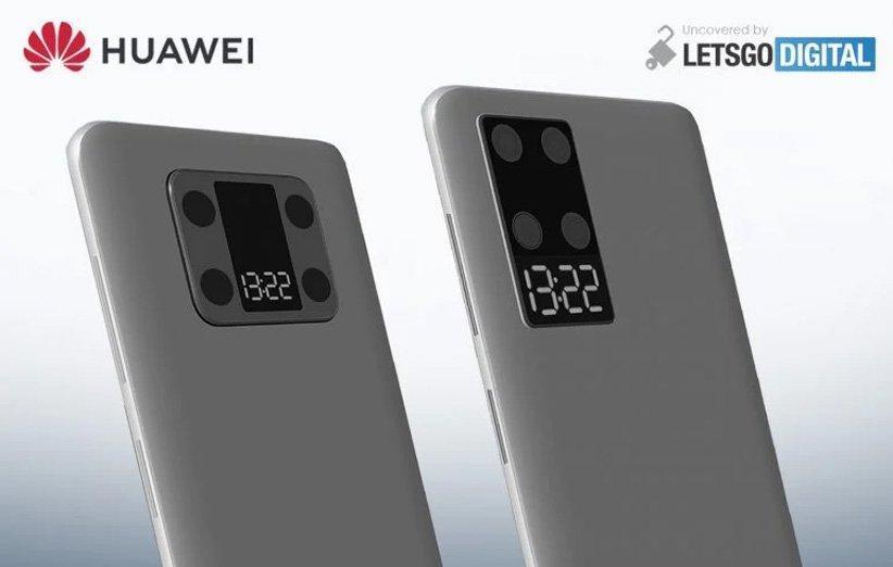 جدیدترین پتنت هواوی گوشی های دارای نمایشگر ثانویه را نشان می دهد