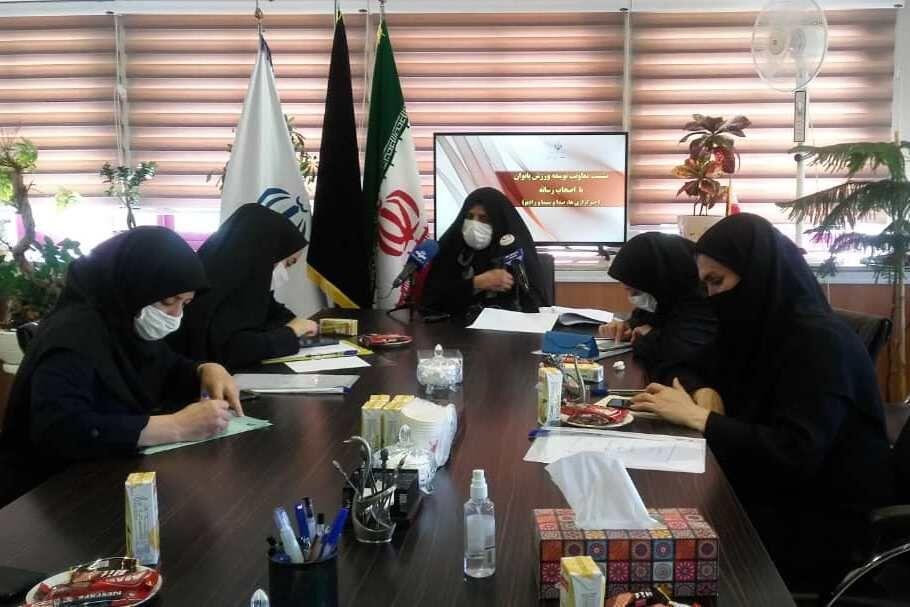 خبرنگاران معاون وزیر ورزش: 699 زن ورزشکار عضو تیم های ملی هستند