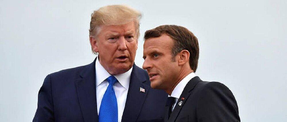 گاف تازه ترامپ درباره مکرون سوژه رسانه های فرانسه شد