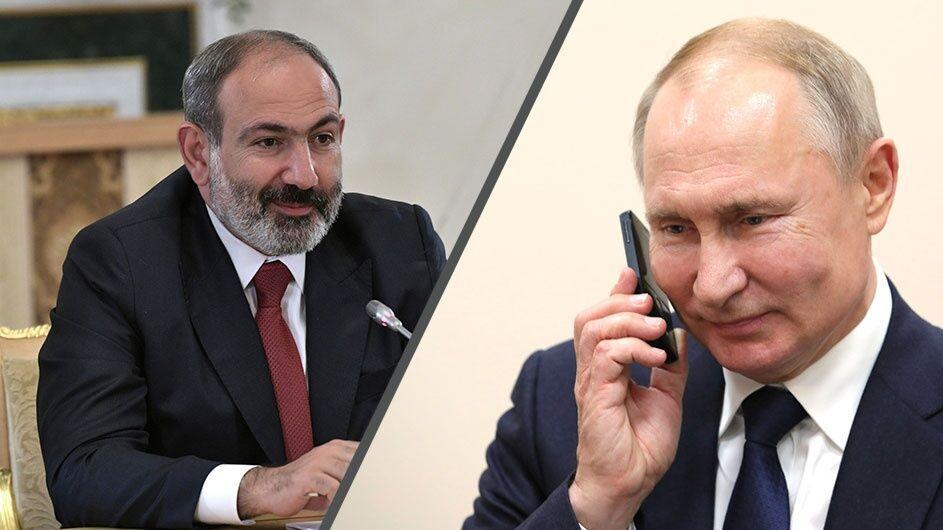 خبرنگاران گفت و گوی پوتین و پاشینیان برای چهارمین بار در یک هفته