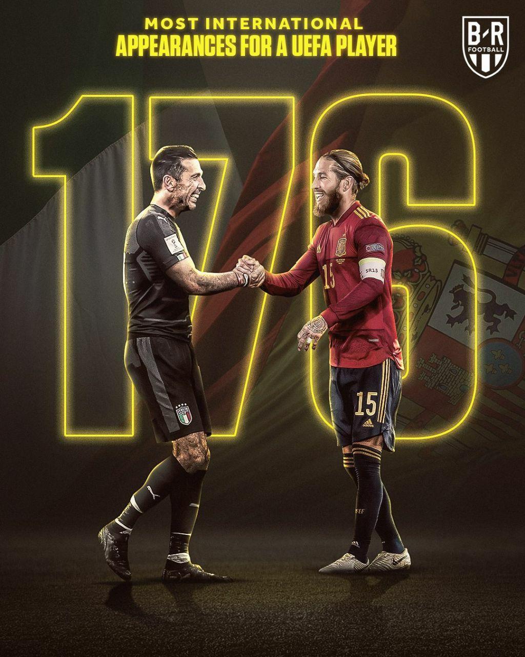 ثبت رکوردی دیگر توسط راموس، این بار با پیراهن تیم ملی اسپانیا