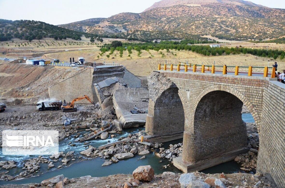 خبرنگاران اختصاص 15 میلیارد تومان برای بازسازی 12 پل سیلزده در لرستان