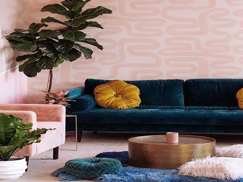 چه طرح کاغذ دیواری خانه را عظیم تر نشان می دهد
