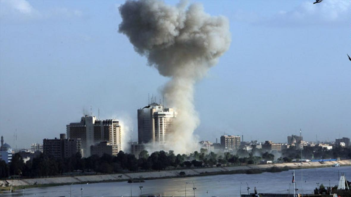 شنیدن شدن صدای انفجار مهیب در شمال بغداد