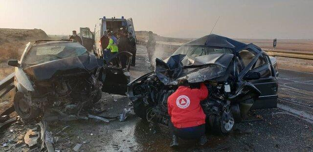 هفت مصدوم در پی سانحه رانندگی محور مرند-جلفا