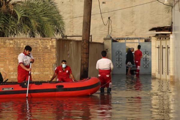 خبرنگاران امدادرسانی به چهار شهرستان گرفتار در آبگرفتگی خوزستان در حال اجرا است