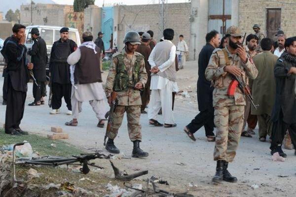حمله تروریستی در بلوچستان پاکستان ، 7 نیروی مرزبانی کشته شدند