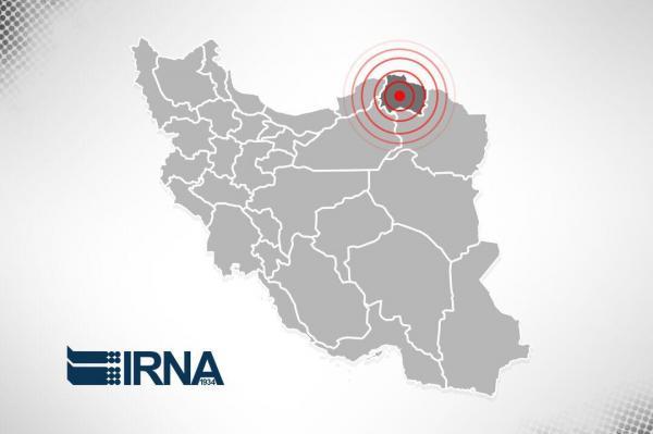 خبرنگاران زلزله 4 ریشتری در مرز خراسان شمالی خسارت نداشت