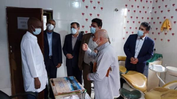 خبرنگاران تمدید تفاهم نامه همکاری میان هلال احمر ایران و وزارت بهداشت سیرالئون