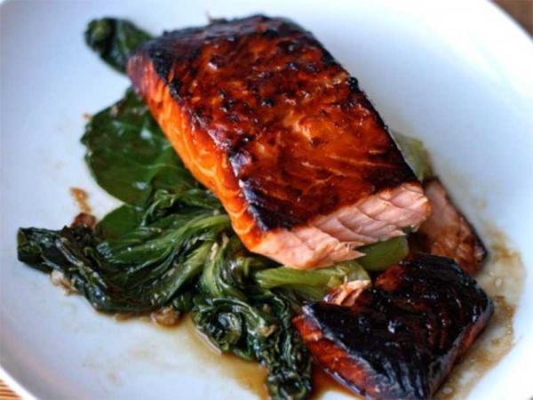 طرز تهیه ماهی با سس سویا