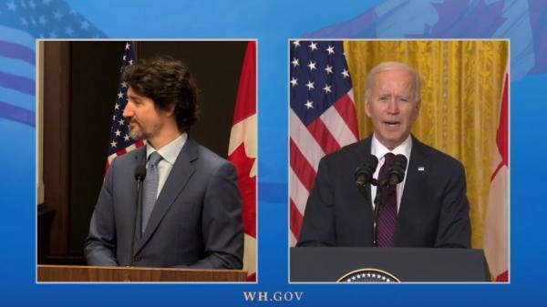 بایدن: با همکاری کانادا با چین رقابت می کنیم