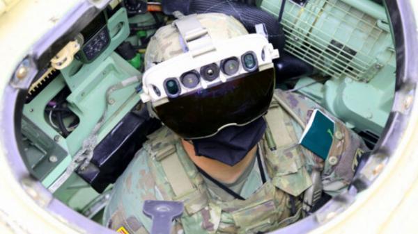 عینک های عجیب؛ سربازان آمریکایی پشت دیوار ها را می بینند!