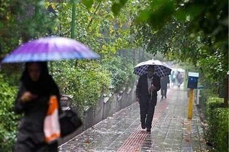 رگبار باران در بیش از 15 استان کشور