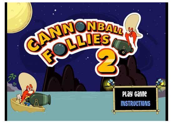 بازی Cannon Ball Follies 2