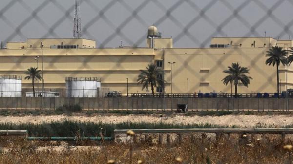 آژیر هشدار در سفارت آمریکا در بغداد به صدا عایدی